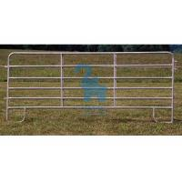 Buy Horizontal Steel Barriers Corral Fence Panels For Cattle / Goat / Pig at wholesale prices
