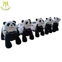 China Hansel amusement park stuffed battery operated electric animal ride for commercial for sale
