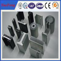 Quality Aluminium heatsink supplier, anodized aluminum channel heat sinks price factory for sale