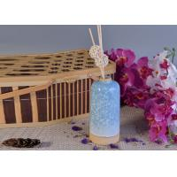 Quality Glazed Aroma Empty Diffuser Bottles And Reeds 580ml Ceramic Candle Holder for sale