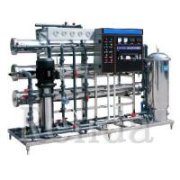 China Mineral Water / Juice / Carbonated Drinks RO Water Treatment Systems Equipment Electric Driven on sale