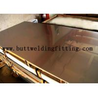 Quality Hot / Cold Dipped Stainless Steel Plate 1000mm Wide With Alloy N04400 / 400 N00625 / 625 for sale