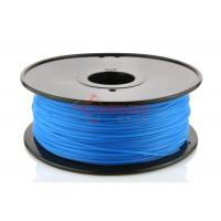 Quality Hot Sale Cubify Reprap 3D Printer PLA Filament 1.75MM Luminous blue,1kg(2.2lb)/KG,RoHS certificated. for sale