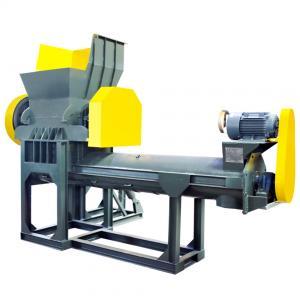 China PE PP PET ABS EVA Plastic Crusher Plastic Crushing Washing Machine on sale