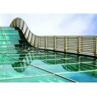 BS / ASTM Approve 12mm Toughened Safety Glass For Subway Station for sale