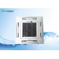 Quality 2.7KW CE Certified Chilled Water Cassette Fan Coil Unit False Ceiling Installation for sale