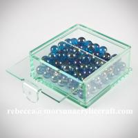 Quality Customized clear plexiglass storage box hot selling acrylic candy  display box for sale