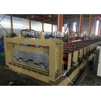 Buy Professional Metal Building Hydraulic Floor Deck Sheet Roll Forming Machine 6kw at wholesale prices