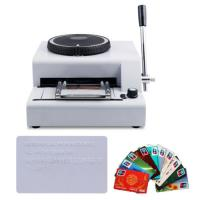 Buy cheap 2016 new hot sale low price manual credit card embossing machine from wholesalers