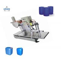 Quality 220 V Semi Automatic Oil Filling Machine Weighing Type For Paint Epoxy for sale