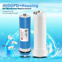 Buy 400GPD Umkehrosmose Wasser Filter Ersatz + Gehäuse RO Membran Universal HOT at wholesale prices