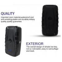 Quality Strong Magnet Long Life Battery GPS Tracker for Machine Equipment with mobile tracking software for sale