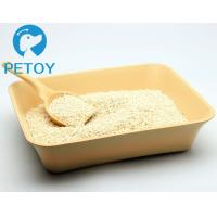 Quality Easy Scooping Ultra Clumping Cat Litter / Eco - Friendly Tofu Cat Litter for sale