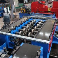Quality GI Stainless Steel Cladding Cable Tray Manufacturing Machine Double Chain Drive for sale