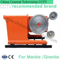 Quality 360 degree big water jet granite and marble block wire saw stone cutter machine for sale