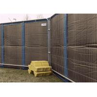 Quality Portable Noise Barriers 40dB sound insulation for 8x12 Temporary Fencing Panels for sale