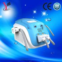 China Portable double handle OPT SHR Elight hair removal/ SR IPL  skin rejuvenation machine on sale