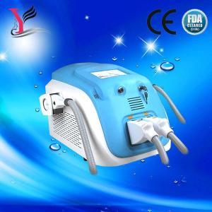 China Portable double handle OPT SHR Elight hair removal/ SR IPL  skin rejuvenation machine on sale