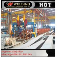 Buy cheap Professional H / I Beam Flange And Seam Welding Line Automatic Welding Machine from wholesalers