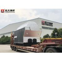 1000Kg Travelling Grate Wood Steam Boiler For Texitile Factory , Easy Maintenance for sale
