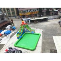 Outdoor Inflatable Water Park For Kids / Extreme Fun Water Theme Park for sale