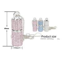Buy OEM Promotional Usb Pen Drive , High Speed Crystal Customized Usb Flash Drive at wholesale prices