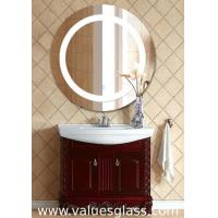 Quality Round Shaped LED Bathroom Mirrors Fashion Appearance With Anti Corrosion Function for sale