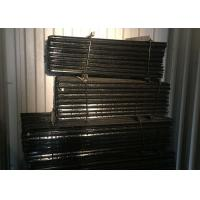 Black steel y post star picket with holes for cattle