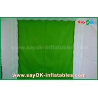 Buy Green Background Inflatable Photo Booth 2.5 x 2.5 x 2.5m For Wedding / Event at wholesale prices