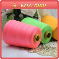 China Eco Friendly Polyester Sewing Machine Thread With Mercerized Technics on sale