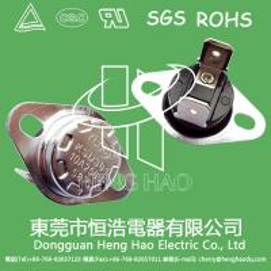 China KSD301 bimetal  temperature switch,KSD301 self-thermal fuse on sale