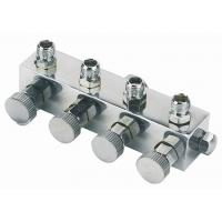 Quality High Durability Airbrush Spare Parts , 4 Way Airbrush Manifold Replacement A9-4 for sale