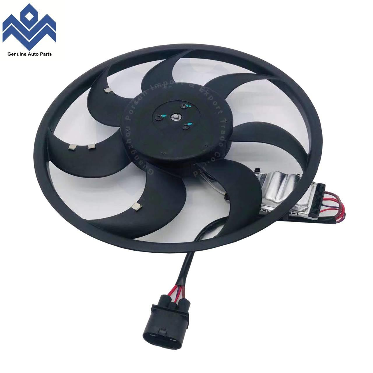 China Engine Radiator Cooling Fan Assembly Fits VW Touareg  Audi Q7 7L0959455G 995 624 136 01 on sale