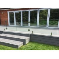 China Outdoor railing Tempered Glass Stainless Steel Spigot deck railings on sale