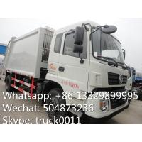 Buy dongfeng tianjin 10cbm-12cbm garbage compactor truck for sale, refuse garbage truck at wholesale prices