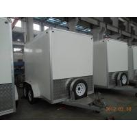 Quality Enclosed Cargo Trailer 10x6x7 Language Option  French for sale
