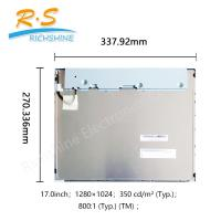 Buy cheap AUO Industrial LCD Screen 17'' led display monitor SXGA 1280x1080 G170EG01 V1 from wholesalers