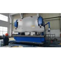 Quality 6m Length Plate Press Brake Machine CNC Controlling Steel Protective Fence Bending for sale