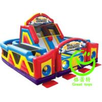 Quality Hot selling adrenaline rush obstacle course  with 24months warranty GT-OBS-0509 for sale