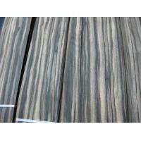 Quality Sliced Natural Macassar Ebony Wood Veneer Sheet for sale