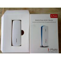 Buy Power Bank Mini 3G Wi-Fi Router Three In One Mobile Router,3G Hotspot , OEM Wireless Route at wholesale prices