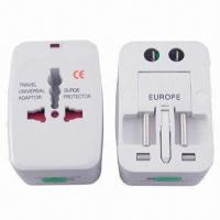 Quality Top Multi-universal Adaptors, Input Voltage of 100 to 250V AC, 10A for sale