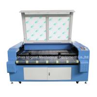 Quality Car Block Set Co2 Laser Cutting Machine with Auto Feeding System/Double Heads for sale