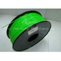 Customized green1.75mm 3mm PLA ABS 3D Printer Filament Consumables