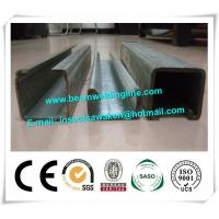 China Galvanized ASTM Cold Formed Steel Sections / U Channel Hollow Section on sale
