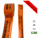 Quality Orange Aluminum Foil PE Danger Caution Cable Underground Detectable Warning Tape for sale