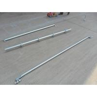 Quality Support  2.42 M Galvanized Steel Scaffolding Easy Erect / Dismantle For Building Construction for sale