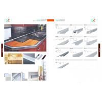 Quality 6000 series Glossy  Aluminum section, aluminum tile trim for sale