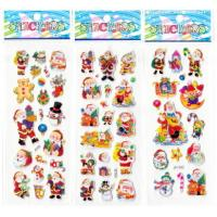 Quality EVA Kawaii Puffy Stickers CMYK Offset Printing For Children Education for sale
