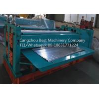 Quality ARC Waves Bending Roofing Sheet Roll Forming Machine Chain / Gear Box Driven System for sale